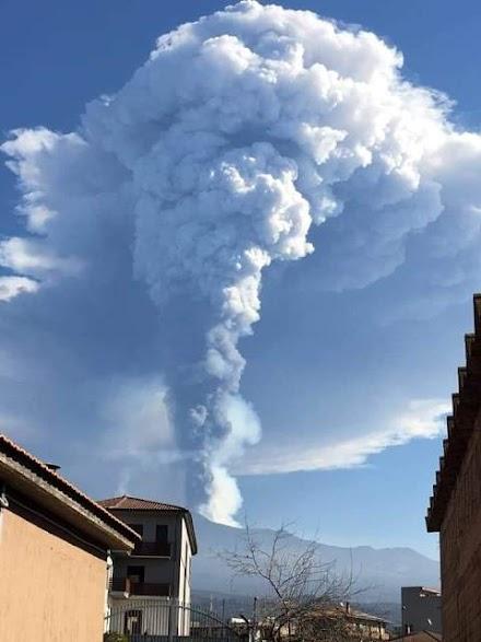Αίτνα : Ποια είναι η πρόβλεψη της πορείας του ηφαιστείου