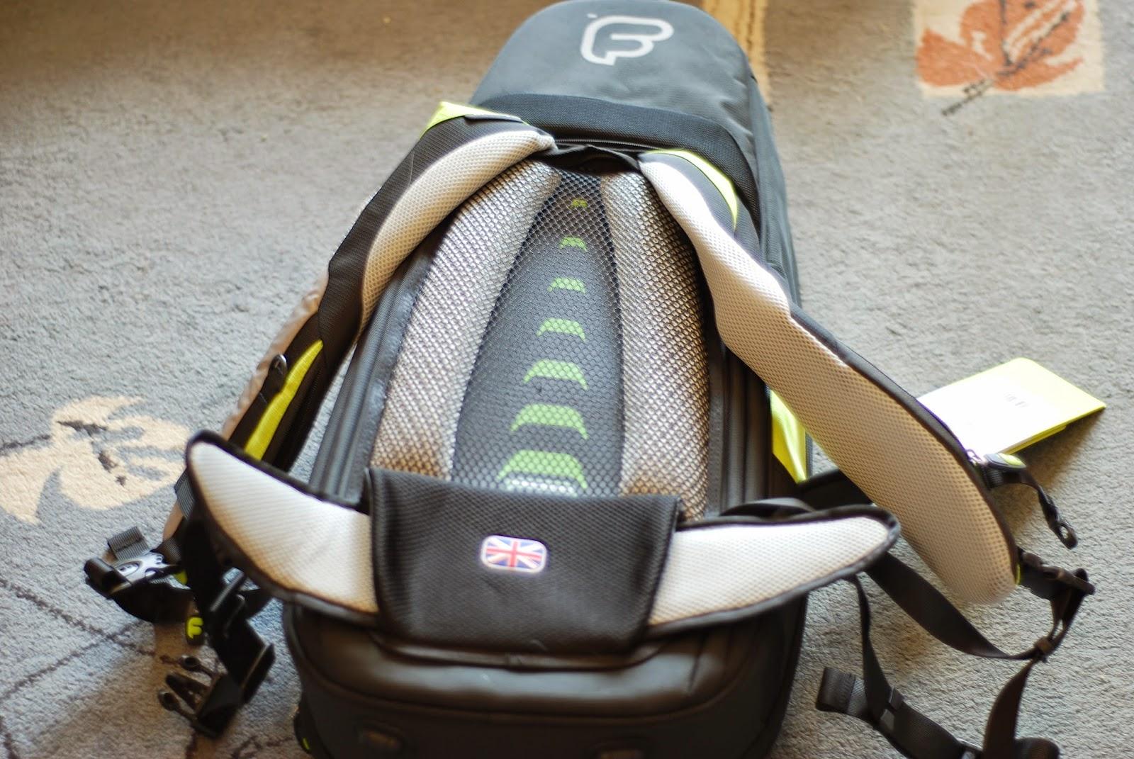 Fusion Premium Ukulele Gig Bag air flow system