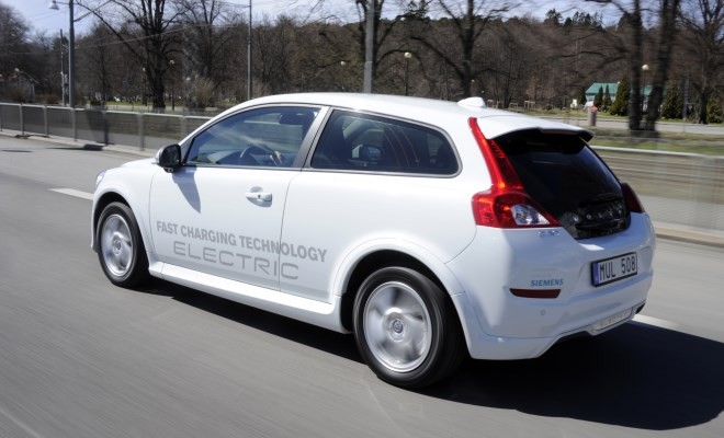 Volvo C30 Electric v2 side view
