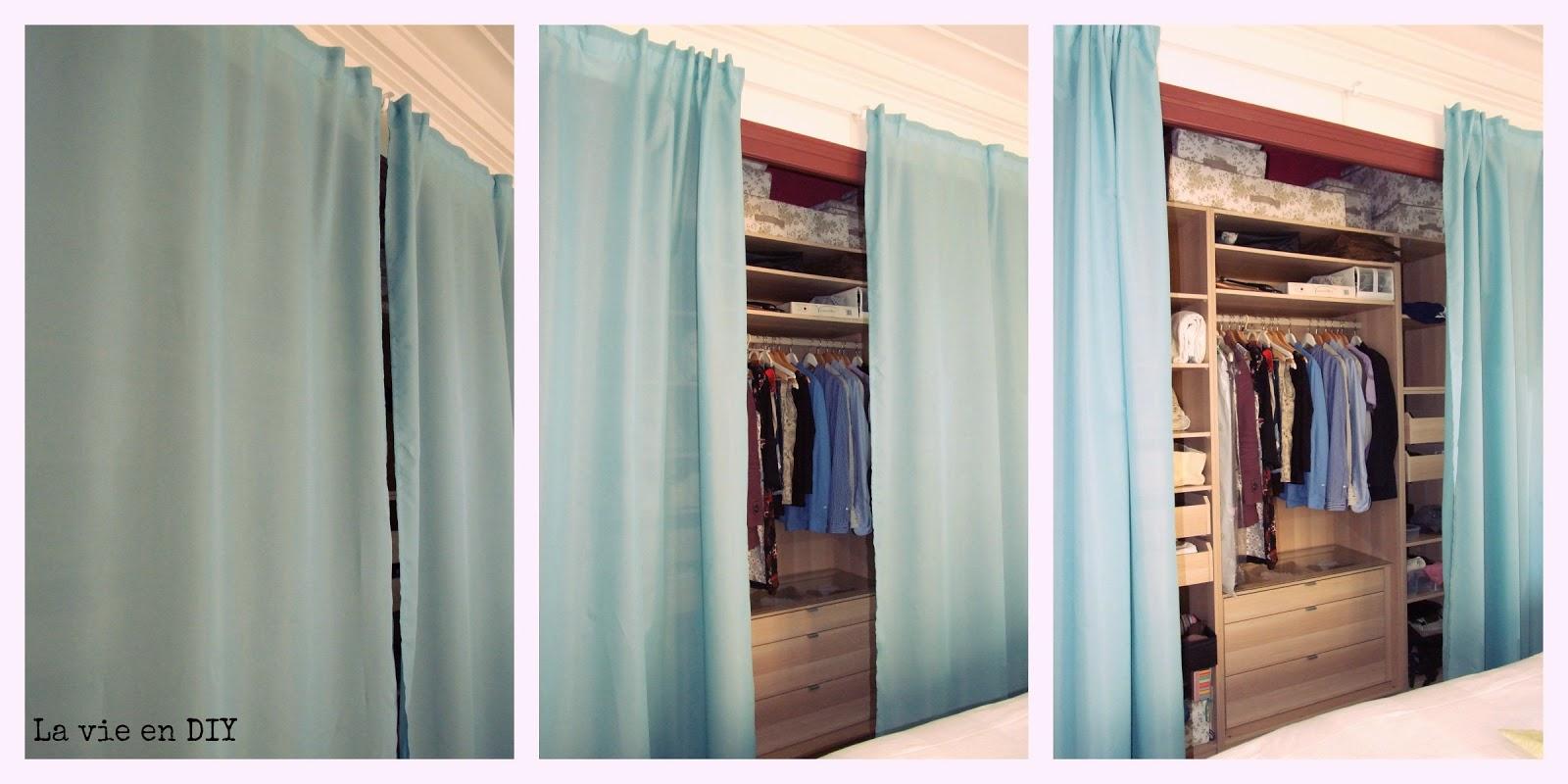 La vie en DIY vestidor low-cost