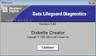 memperbaiki hardisk bad sector dengan western digital data lifeguard diagnostic