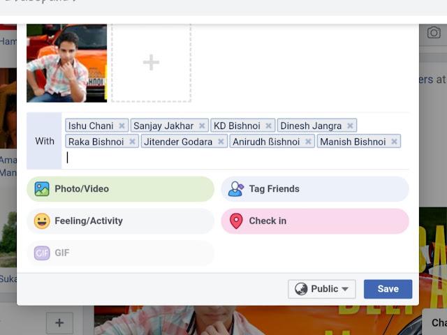 sabhi ko ek sath tag kaise karen Facebook mein Hindi mein