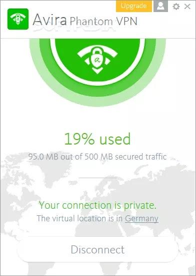 Avira Free Phantom VPN
