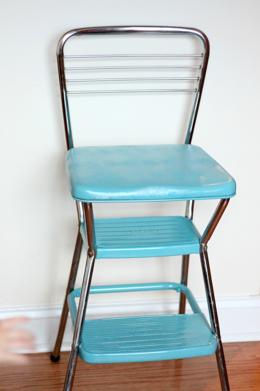 chair step stool chairs for babies room vintage makeover photo prop alida makes