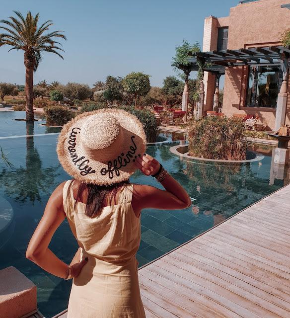 Marrakech, resort Fairmont Royal Palm. Alessia Siena