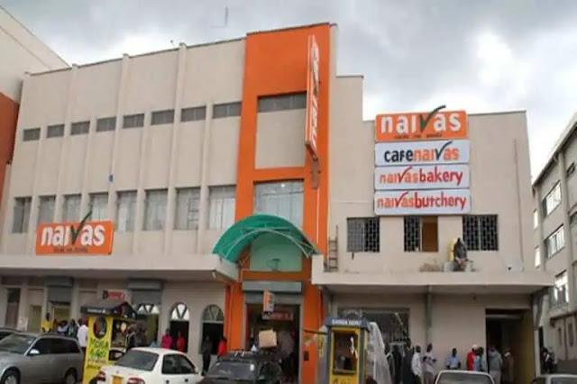 Naivas supermarket. PHOTO | RMS