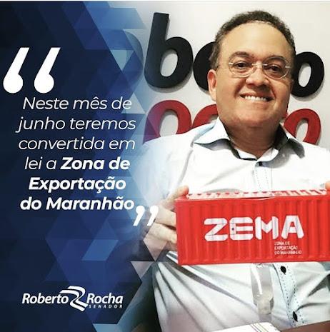Senador Roberto Rocha garante que a Zona de Exportação do Maranhão está mais próxima de se tornar realidade!!!