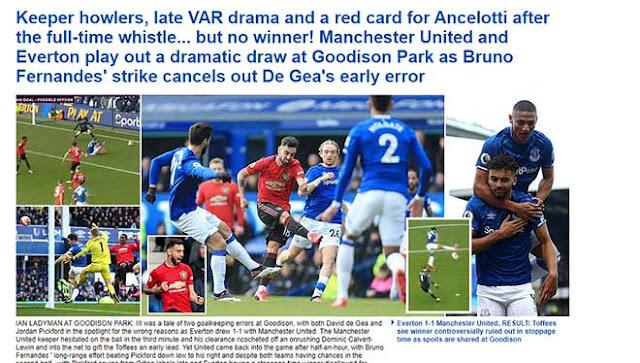 """MU được Fernandes & VAR giải cứu: Báo Anh chê De Gea, Roy Keane đòi """"xử"""" 2"""