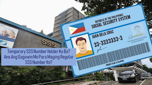 As a worker, whether you have a job in the Philippines or overseas, it is important that you have insurance like the Social Security System or any private insurance provided by your company abroad. it can assure you of benefits should anything untoward happened to you. It is indeed a great help to you and your family.     Ads    As a local worker, being a member of the SSS assures that you can avail of the benefits. SSS membership can be determined by having an SSS number. But what will you do if you are given a temporary SSS number? Can you still be able to avail the benefits enjoyed by regular members?    What is a temporary SSS Number?  Is it different from a regular SS Number?    A temporary SS Number is issued to members who have not yet submitted their birth certificates and the date of birth was not yet verified by the SSS. Just like a regular SS Number, the 10-digit temporary SS number is also proof that you are an SSS member and it will serve as your lifetime SSS number once it is verified.     Can you avail the benefits if you are holding a temporary SS Number?  As a temporary SS number holder, you can also pay your contribution as a voluntary or self-employed member or through your company just like a regular member.  However, only the regular SS Number holder can avail of the benefits and privileges. Temporary SS Number holders are not allowed to avail their benefits and privileges unless they had already verified their age and birth date by submitting a copy of their birth certificate from the Philippine Statistics Authority (PSA).    What will you do to have your temporary SS Number verified to be a regular SS Number and avail the benefits?    If you do not have a birth certificate yet, you can submit valid documents or ID's listed at the back of the SS Form E-1 or E-4.    You can also do a late registration of your birth certificate. Just go to your local civil registry where you were born and have yourself registered. You will then be able to request