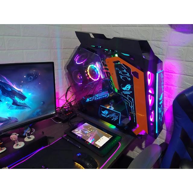 Case máy tính đẹp giúp nâng cao hứng thú khi sử dụng PC Gaming