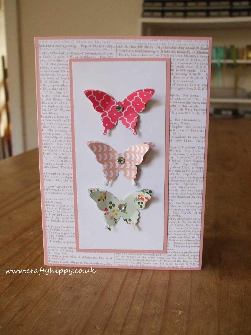 Stampin' Up! All Abloom, Papillon Potpourri
