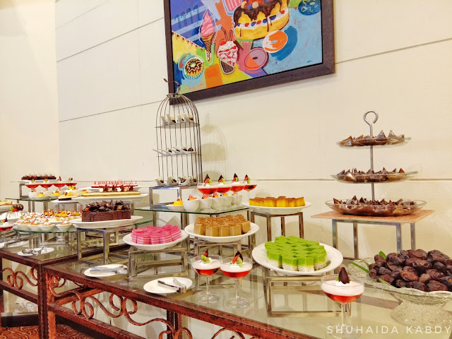 Buffet Ramadhan House Of Smoke and Grill di Hotel Grand Bluewave Shah Alam