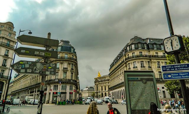 Paris, bairro da Ópera