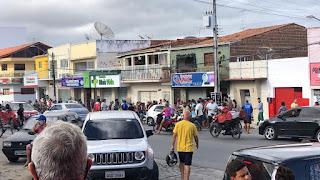 Tentativa de assalto em farmácia da cidade de Belém deixa uma jovem de 23 anos ferida