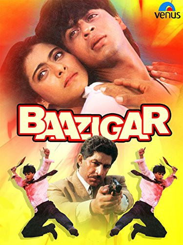 Baazigar 1993 Hindi Movie 500MB HDRip ESub Download