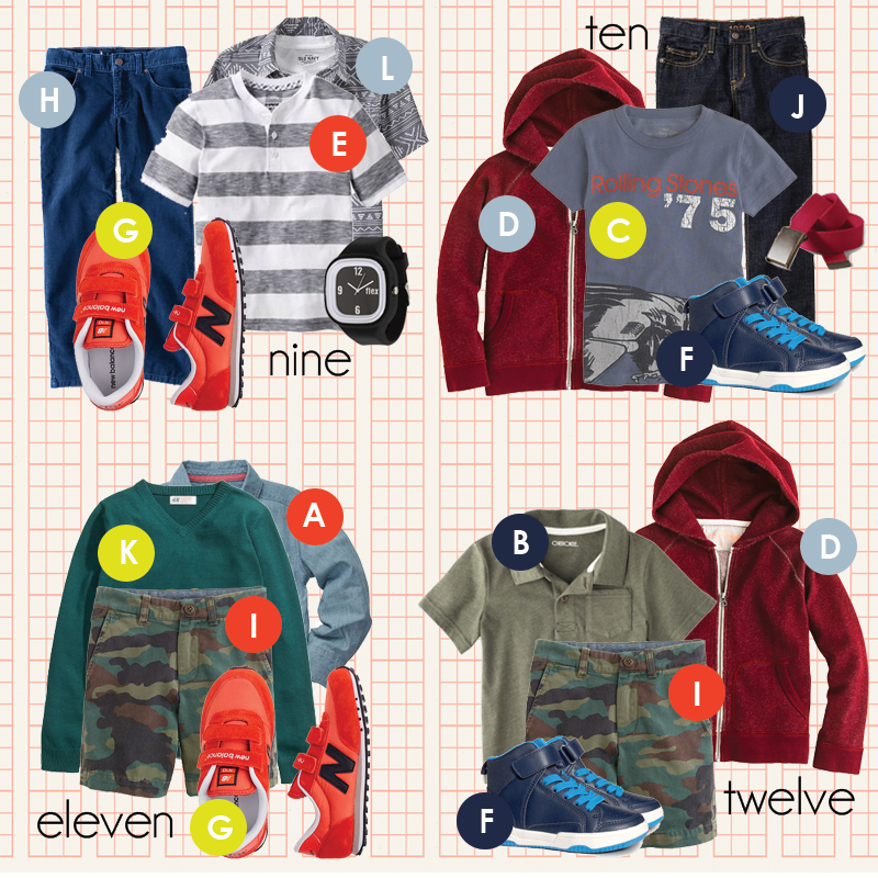 Back to School for Boys in 15 Items 4e558695026d2