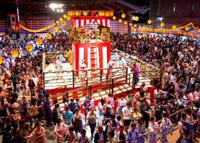 Festival Bon Odori Jepang