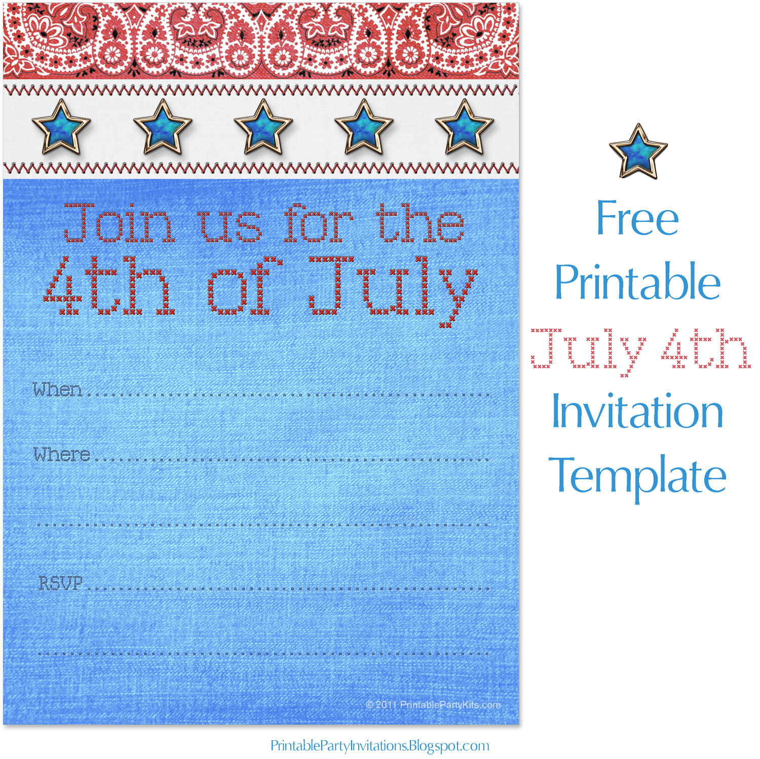 photograph relating to Free Printable Patriotic Invitations known as Cant obtain subsution for tag [report.overall body]--\u003e Fourth of