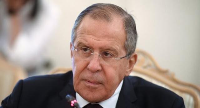 لافروف تصرفات الولايات المتحدة في شرق سورية غير قانونية وتثير قلق موسكو.
