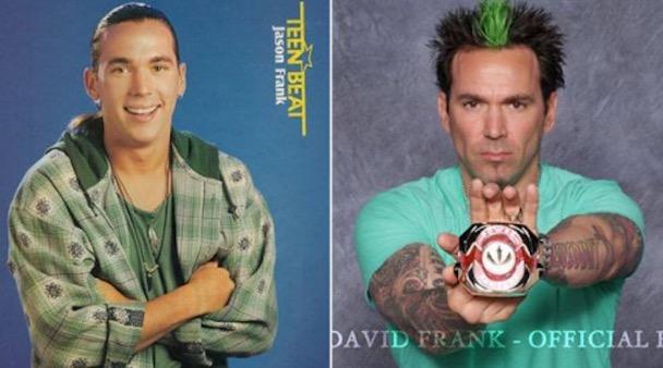 Pelakon Power Rangers Dulu dan Kini