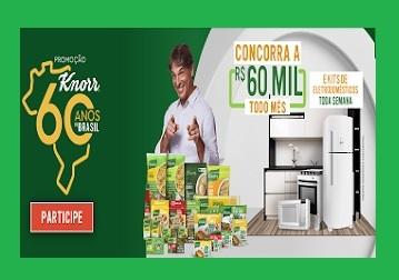 Promoção Knorr 2021 - 60 Anos de Brasil