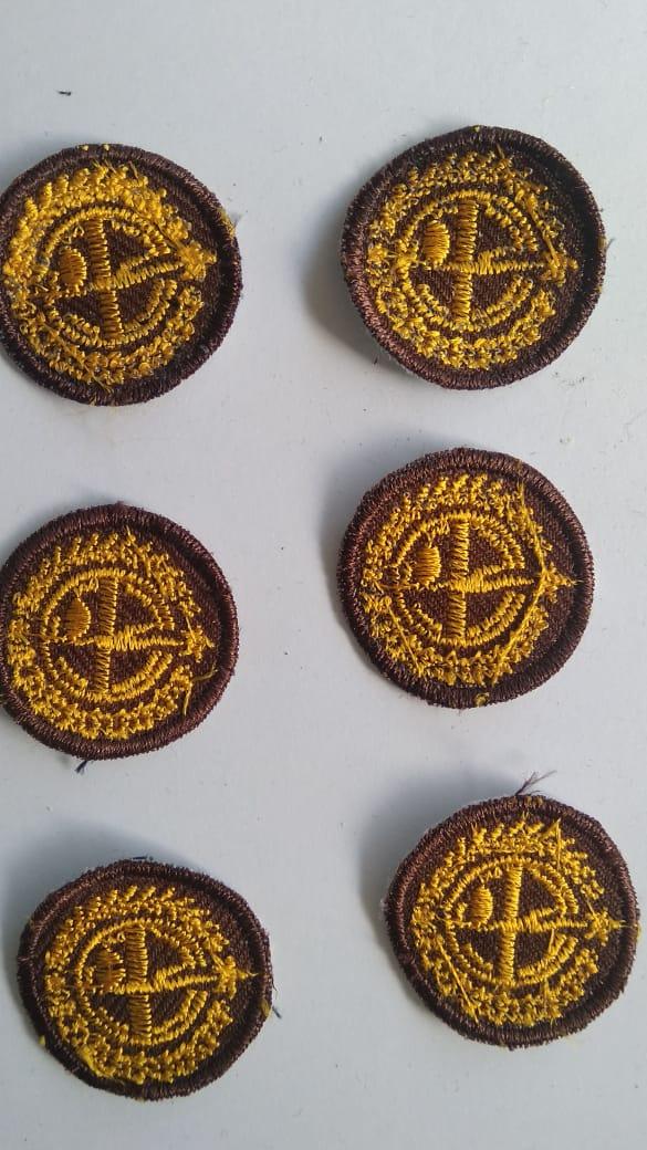 tunas pramuka - tunas kelapa - tunas bordir - seragam pramuka - tunas kelapa MURAH