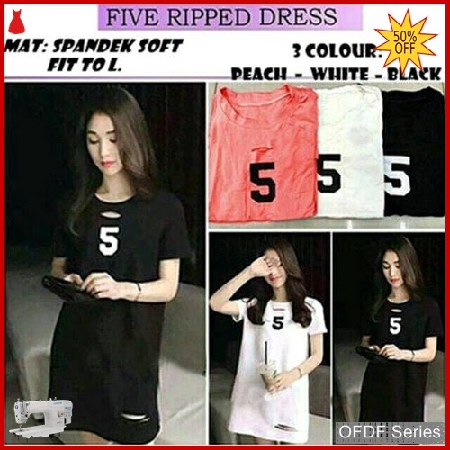 OFDF099 Dress Casual Dress Five Ripped 129 BMGShop