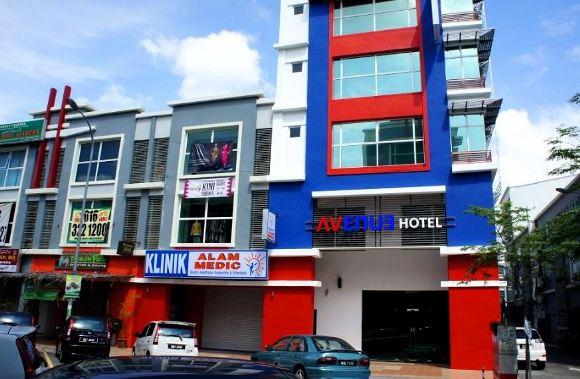 M avenue hotel murah shah alam