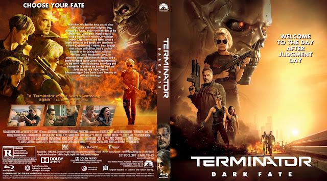 Terminator: Dark Fate 11mm Bluray Cover
