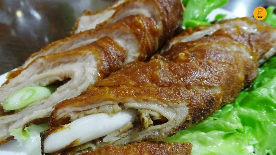 Intestino de cerdo en Chan Shui Yao Usera, restaurantes chinos Usera