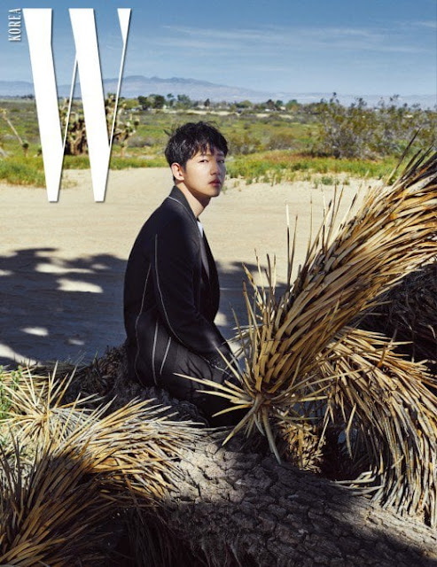 W Magazine Song Joong Ki