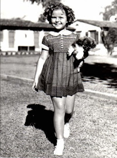 Shirley Temple and Dog Picture
