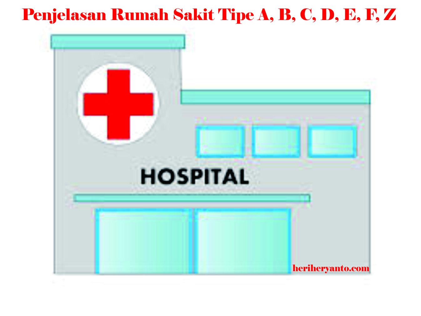 Klasifikasi Rumah Sakit Umum Tipe A, B, C, D dan E di ...