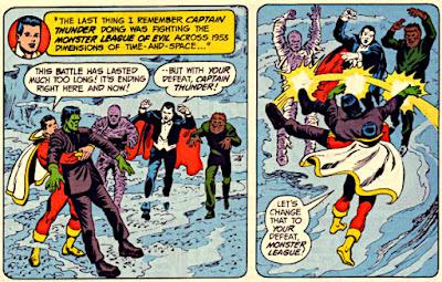 Superman #276, Captain Thunder vs the Monster League of Evil