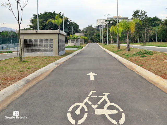 Vista do interior do Parque das Bicicletas - Moema - São Paulo