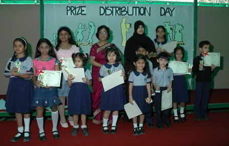Prize distribution function organised at St Soldier School,Mohali