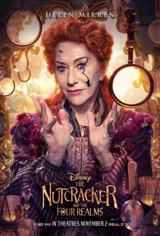 Nutcracker and Four Realms movie poster