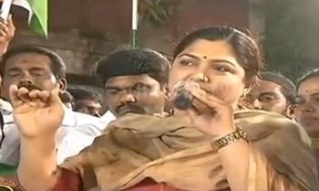 Khushboo's Election Campaign Speech at Royapuram – Thanthi Tv