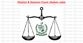 District & Session Court Jhelum Jobs 2020 for Stenographer, LDC and Date Entry Operator