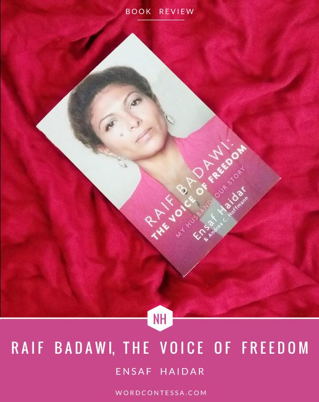 Raif Badawi #FreeRaif Ensaf Haidar
