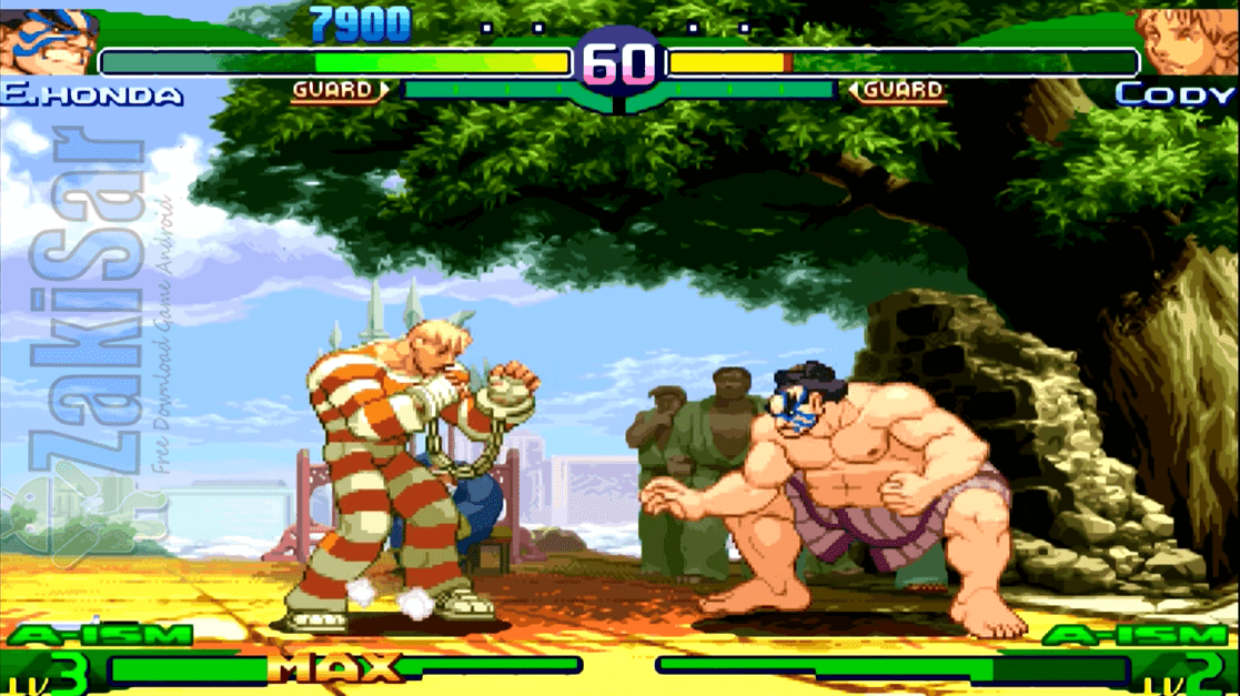 Street Fighter Alpha 3 Max PSP Iso/Cso Free Download