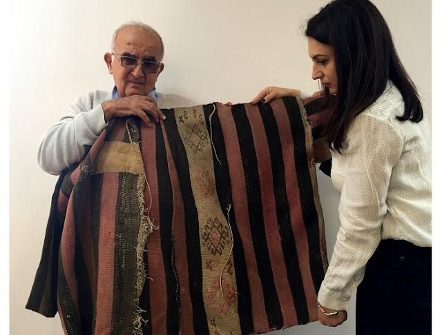 La historia de un abrigo que viajó de Marash a Erevan