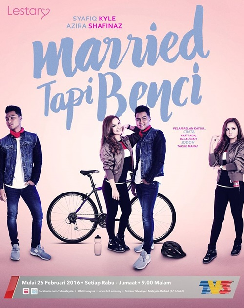 Original Sound Track OST Married Tapi Benci TV3, lagu tema drama Married Tapi Benci TV3, lagu latar, download OST Married Tapi Benci TV3, tonton video klip lagu Married Tapi Benci TV3