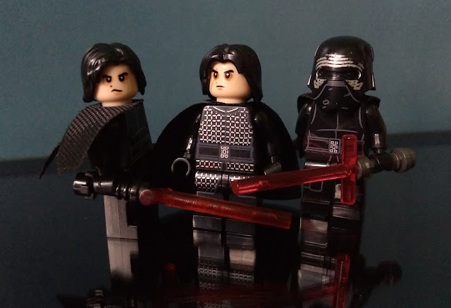 Kylo Ren, First Order, The Force Awakens, Last Jedi, Star Wars lego
