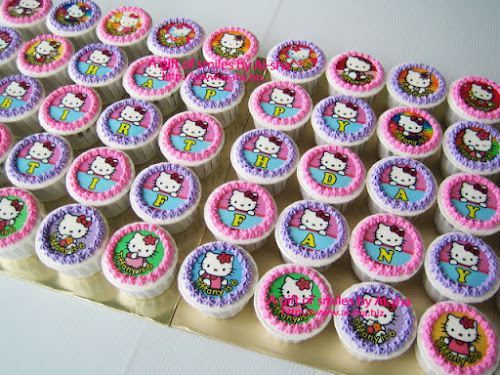 Cupcake Hello Kitty Edible Image