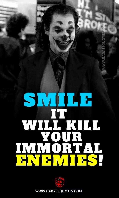 Joker Quotes on Smile