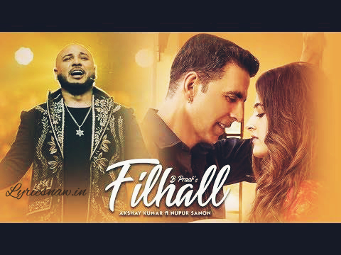 Filhal lyrics in Hindi and English