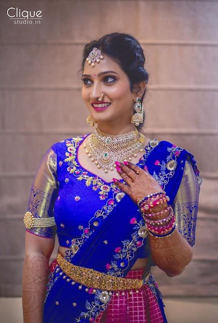 Gorgeous Bride in Hiya Designer Jewellery