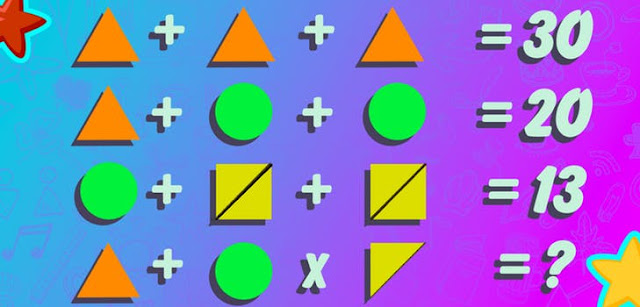 Find value of unknown in math puzzle