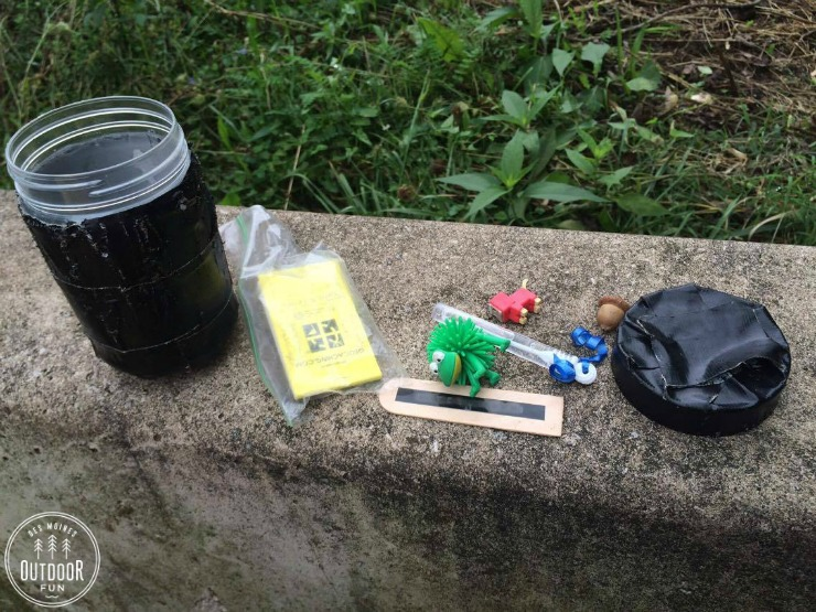 Geocaching with kids - summer camp ideas